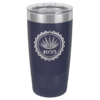 Personalized 20oz Navy Blue Insulated Tumbler