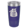 Personalized 20oz Purple Insulated Tumbler
