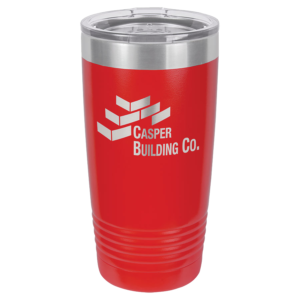 Personalized 20oz Red Insulated Tumbler