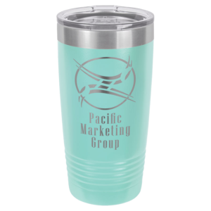 Personalized 20oz Teal Insulated Tumbler